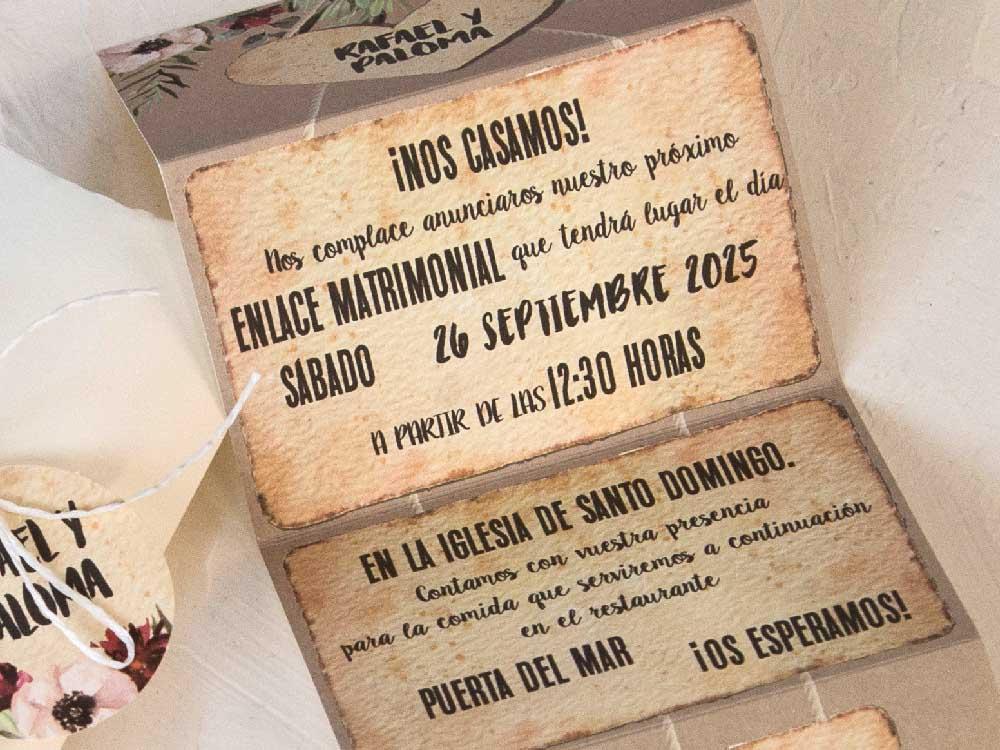 Invitaciones de boda coleccion emma 2020-2021 imprenta dimension print teruel-101