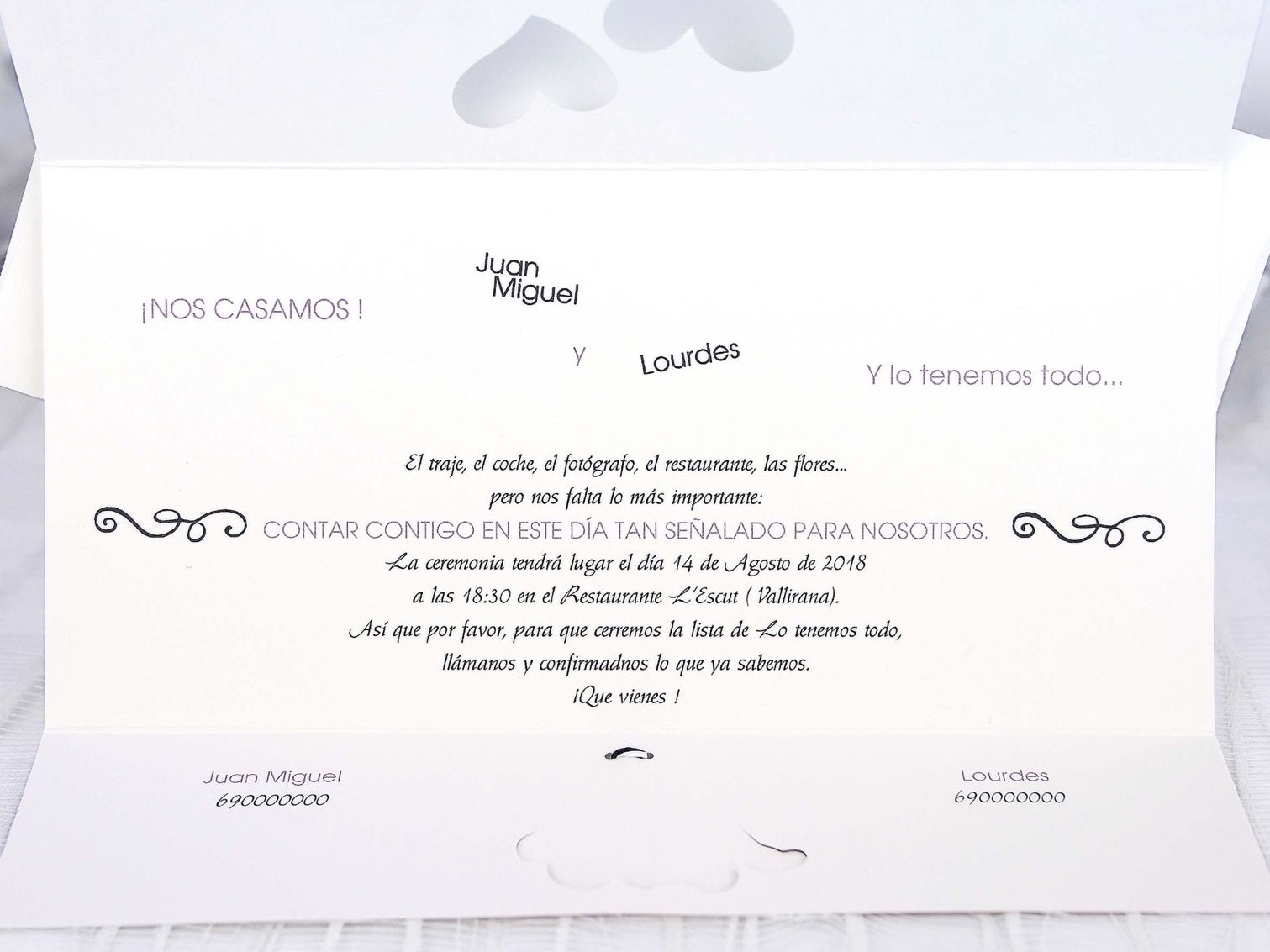Invitaciones de boda coleccion emma 2020-2021 imprenta dimension print teruel-160
