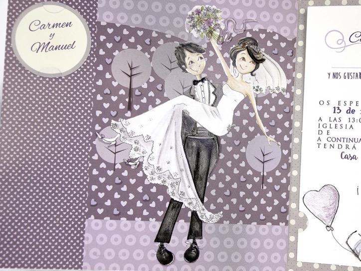 Invitaciones de boda coleccion emma 2020-2021 imprenta dimension print teruel-170