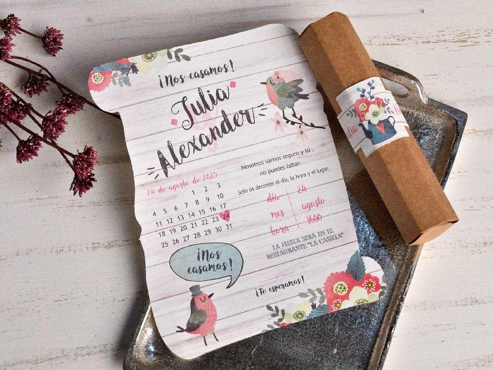 Invitaciones de boda coleccion emma 2020-2021 imprenta dimension print teruel-19