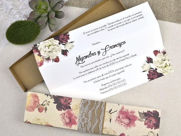 Invitaciones de boda coleccion emma 2020-2021 imprenta dimension print teruel-209