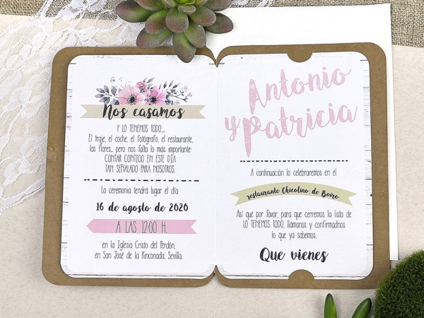 Invitaciones de boda coleccion emma 2020-2021 imprenta dimension print teruel-227