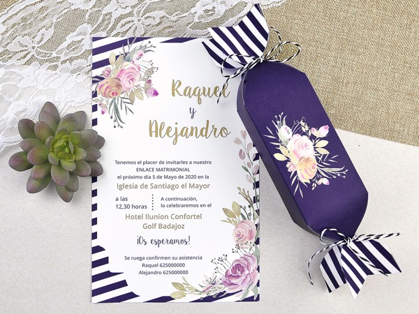 Invitaciones de boda coleccion emma 2020-2021 imprenta dimension print teruel-228