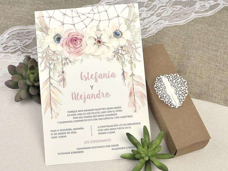 Invitaciones de boda coleccion emma 2020-2021 imprenta dimension print teruel-230