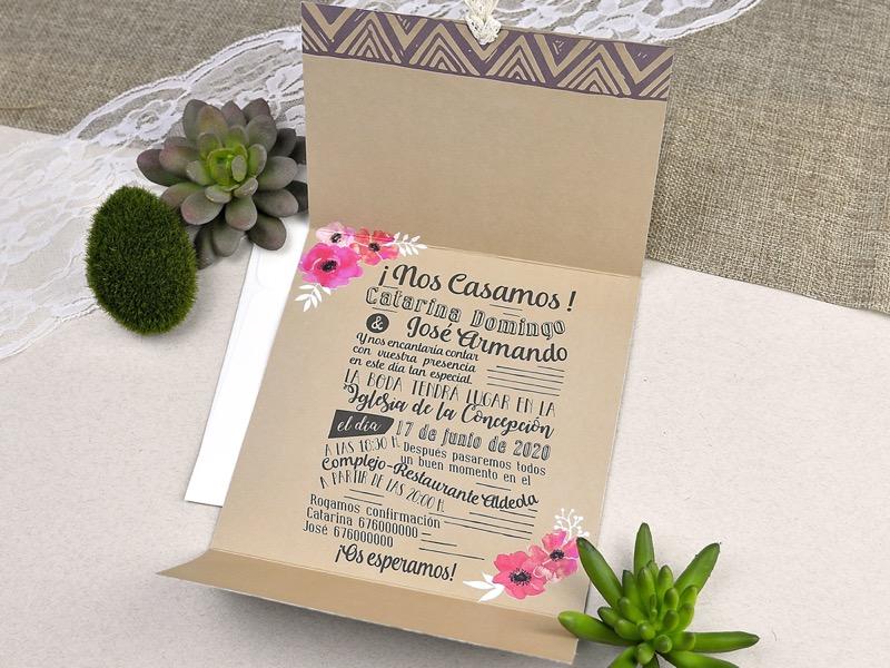 Invitaciones de boda coleccion emma 2020-2021 imprenta dimension print teruel-239