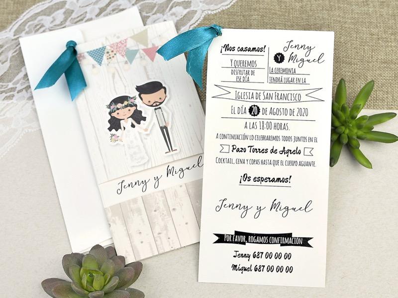 Invitaciones de boda coleccion emma 2020-2021 imprenta dimension print teruel-282