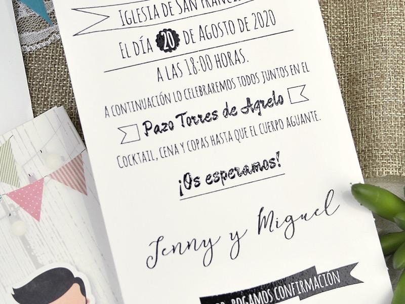 Invitaciones de boda coleccion emma 2020-2021 imprenta dimension print teruel-283