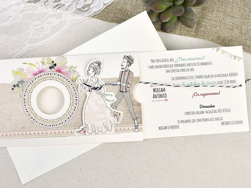 Invitaciones de boda coleccion emma 2020-2021 imprenta dimension print teruel-290