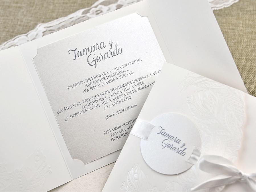 Invitaciones de boda coleccion emma 2020-2021 imprenta dimension print teruel-293
