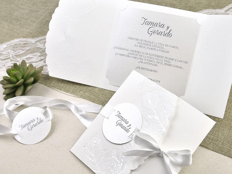 Invitaciones de boda coleccion emma 2020-2021 imprenta dimension print teruel-294