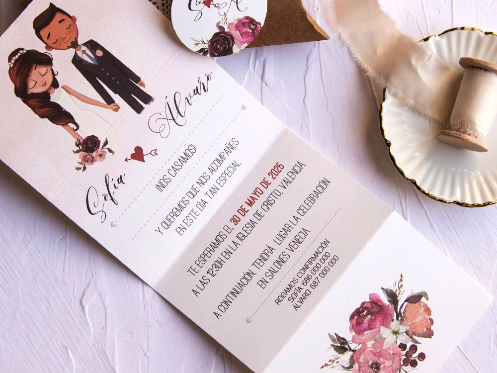 Invitaciones de boda coleccion emma 2020-2021 imprenta dimension print teruel-8