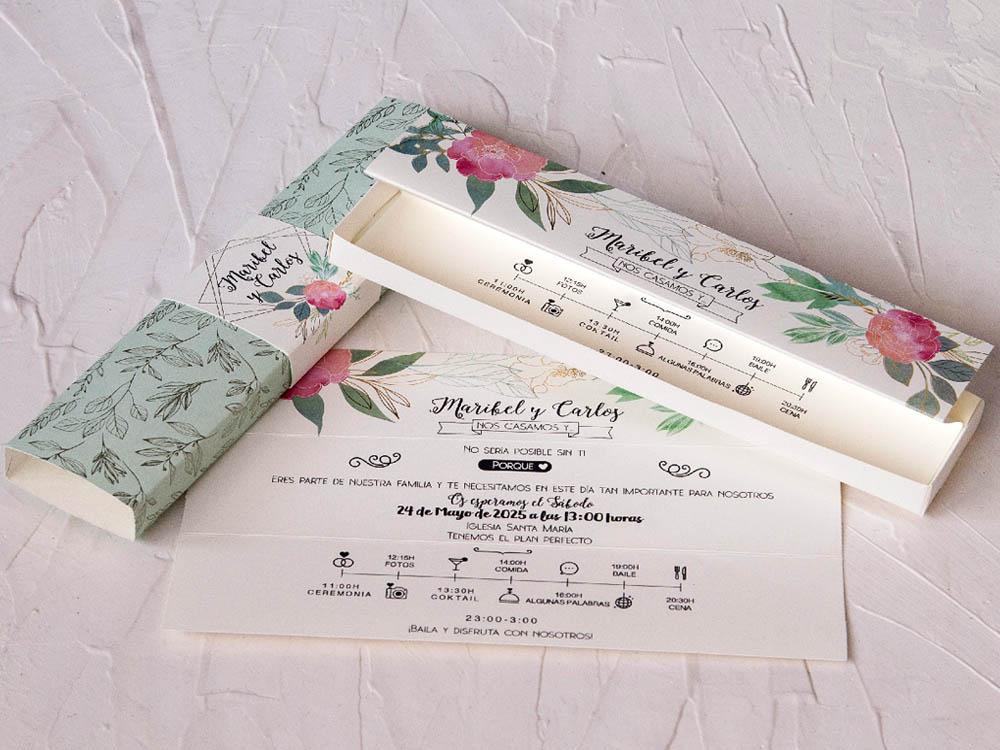 Invitaciones de boda coleccion emma 2020-2021 imprenta dimension print teruel-91