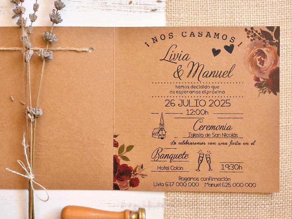 Invitaciones de boda coleccion emma 2020-2021 imprenta dimension print teruel-94